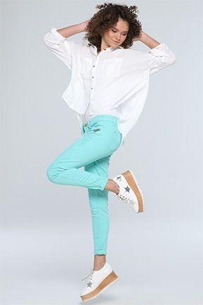 Yeni Gelen Kadın Pantolonlar - Tozlu.com