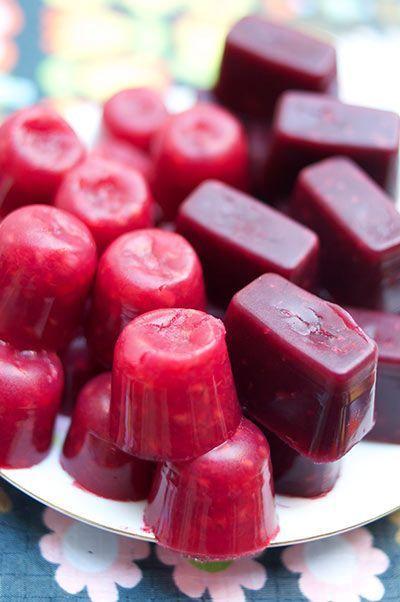 Jujubes aux fruits (VÉGÉTALIENS) : petites bouchées moelleuses et sucrées. ♥ #EPINGLERCPARTAGER
