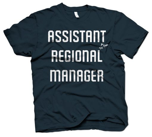 THE OFFICE ASSISTANT TO THE REGIONAL MANAGER T-SHIRT