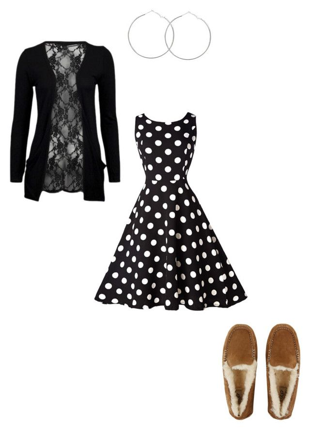 """""""Dress down day 04.05.17"""" by fashionqueen1995 on Polyvore featuring UGG and WithChic"""