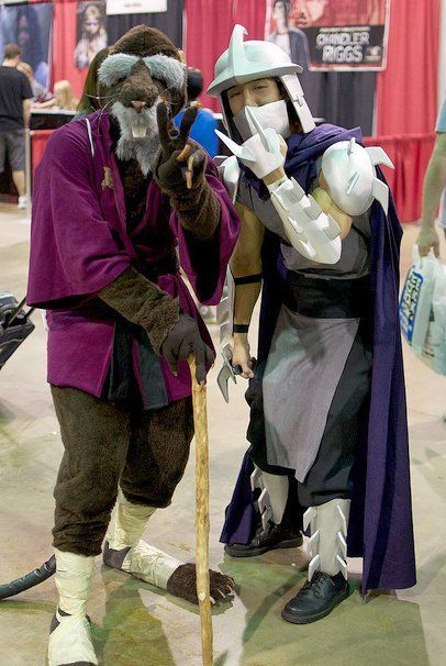 Teenage Mutanta Ninja Turtles. View more EPIC cosplay at http://pinterest.com/SuburbanFandom/cosplay/...