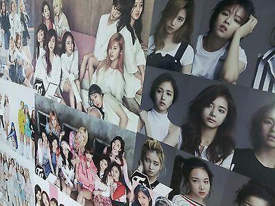 [TWICE] Twice Bromide Poster 12pcs Sticker Size of A4 Paper x2 Kpop Goods