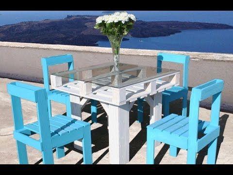 Como fazer uma mesa de jantar usando palete de madeira