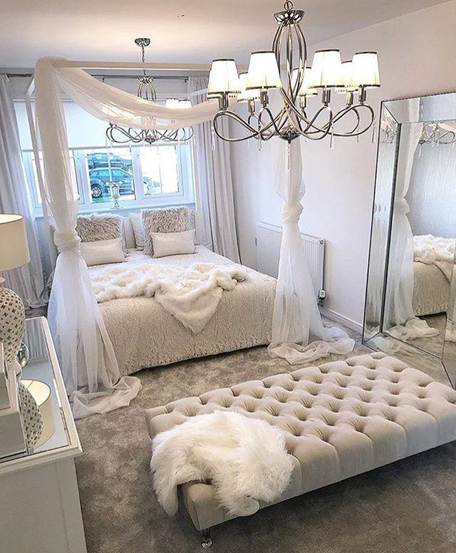 Traumhafte Schöne Weiße Bettwäsche Bedroom Bedding Schlafzimmer