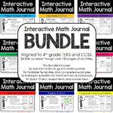 4th Grade Interactive Math Journal