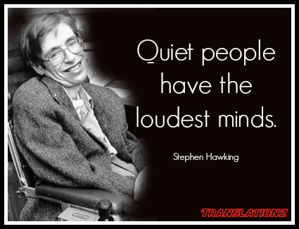 Stephen hawking quiet people and people on pinterest