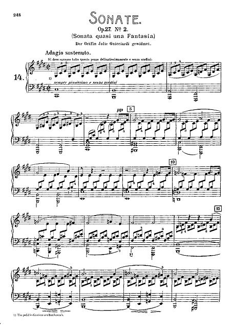 How to learn beethoven song on the piano