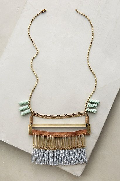 Collage Necklace #anthropologie