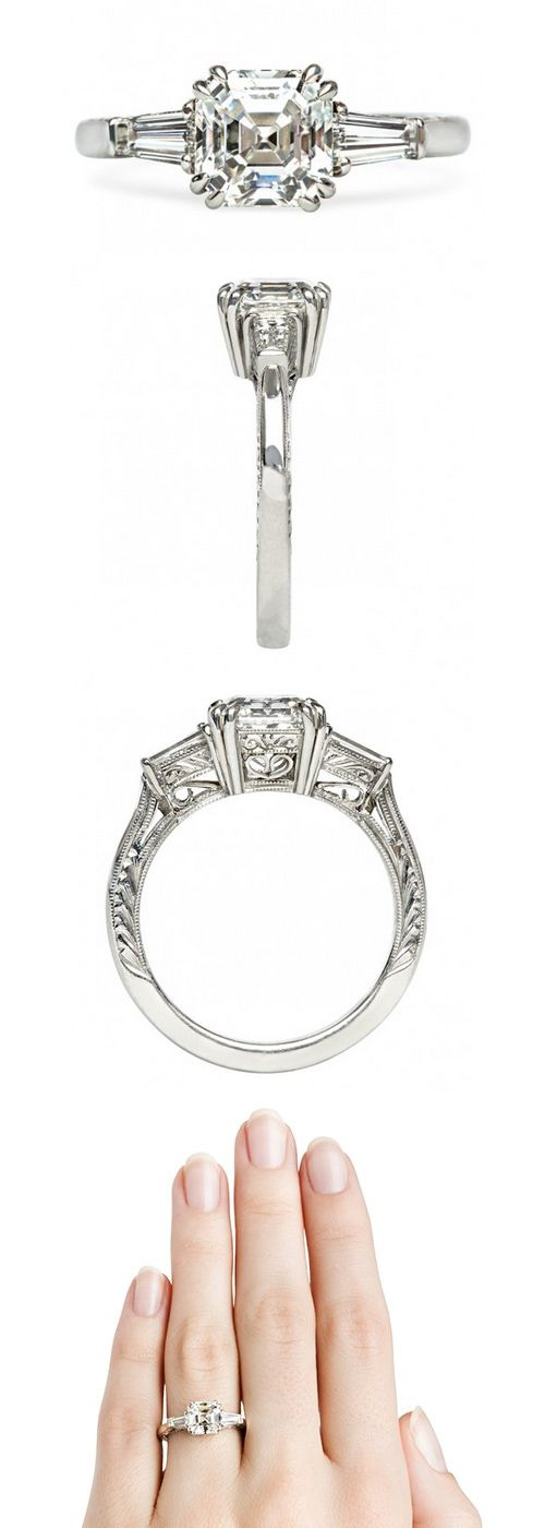how amaze is this Southwick Vintage Inspired Engagement Ring by Trumpet & Horn http://trumpetandhorn.com/southwick.html