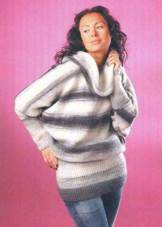 pulover s rukavami letuchaya mysh