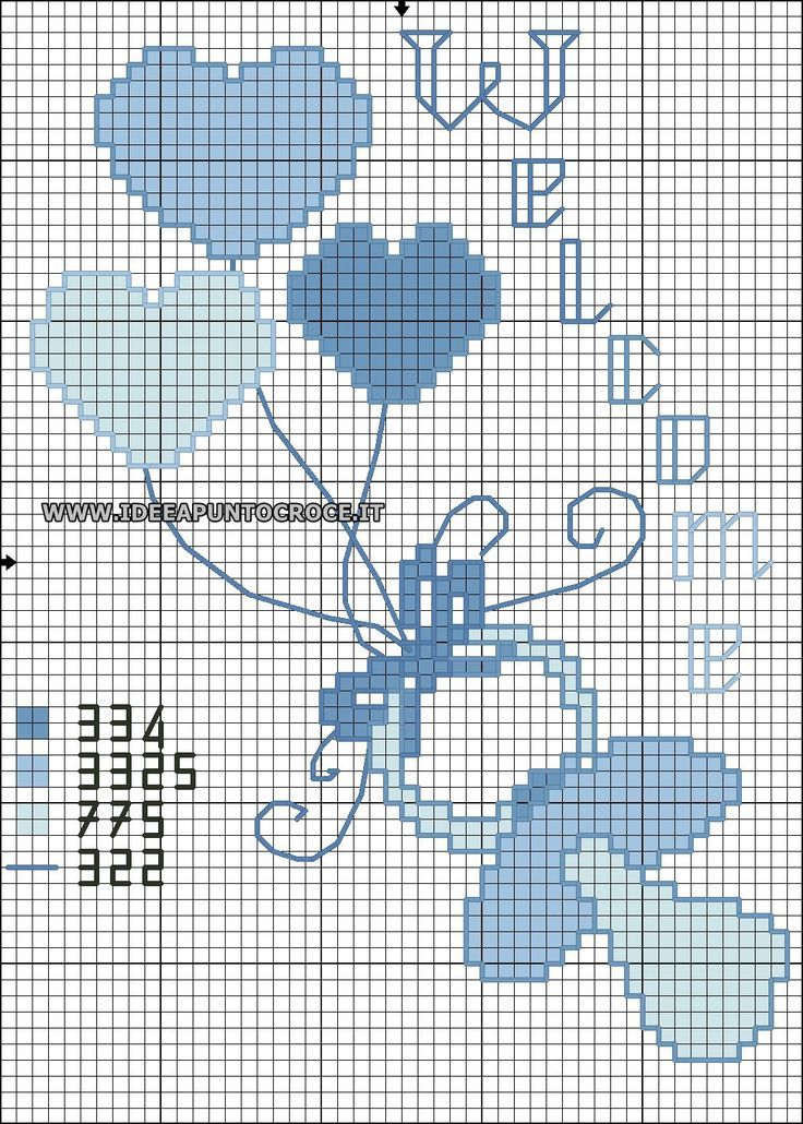 4386 best bambini images on pinterest embroidery cross for Punto croce bambini nascita