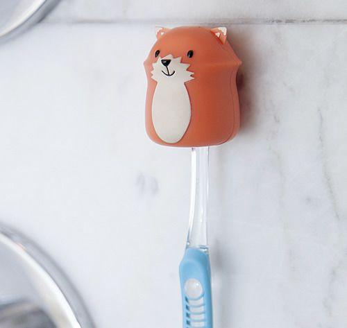 Tandborsthållare med sugproppsfäste FOX, Kikkerland