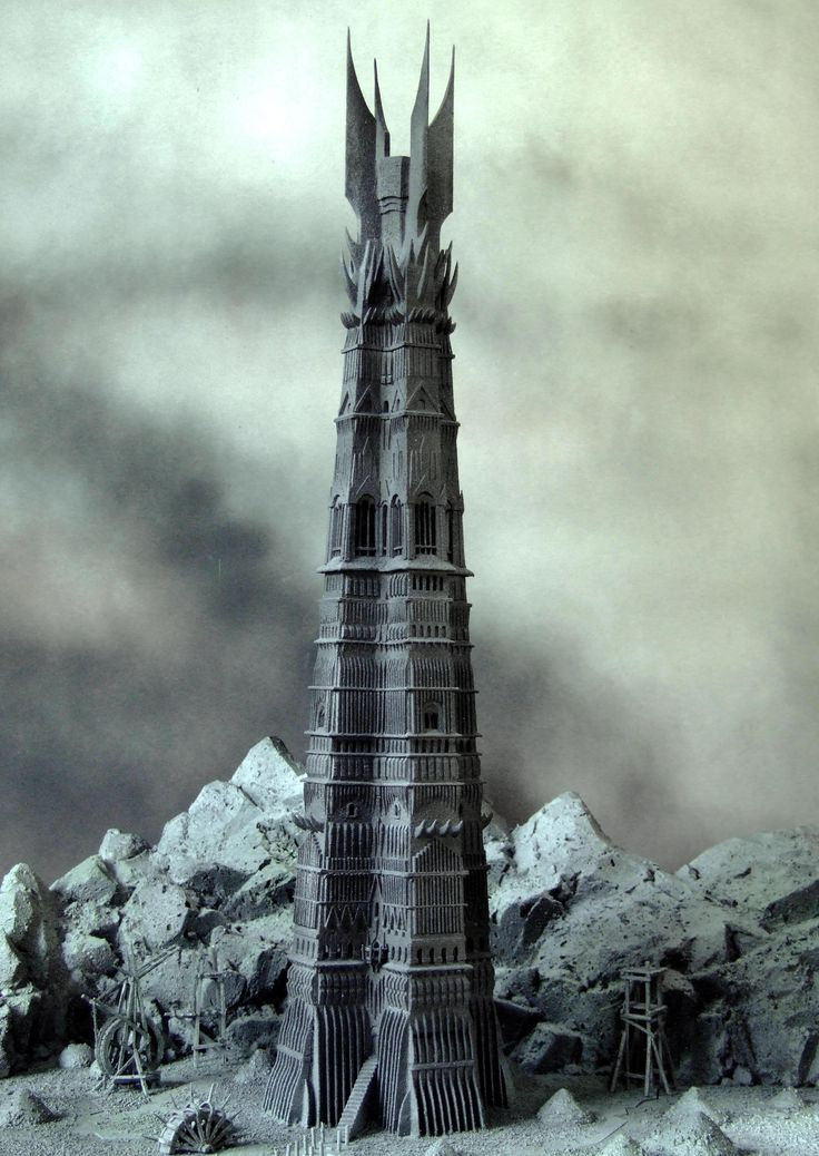 orthanc or known as isengard, one of fav places in middle-earth inhabited by saruman. located in nan-curinur, gifted to him by rohan