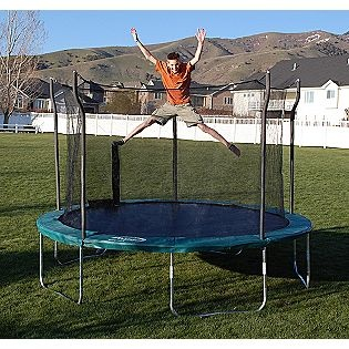 $209 sears  include box dimensions Propel Trampolines -12ft Trampoline with Enclosure