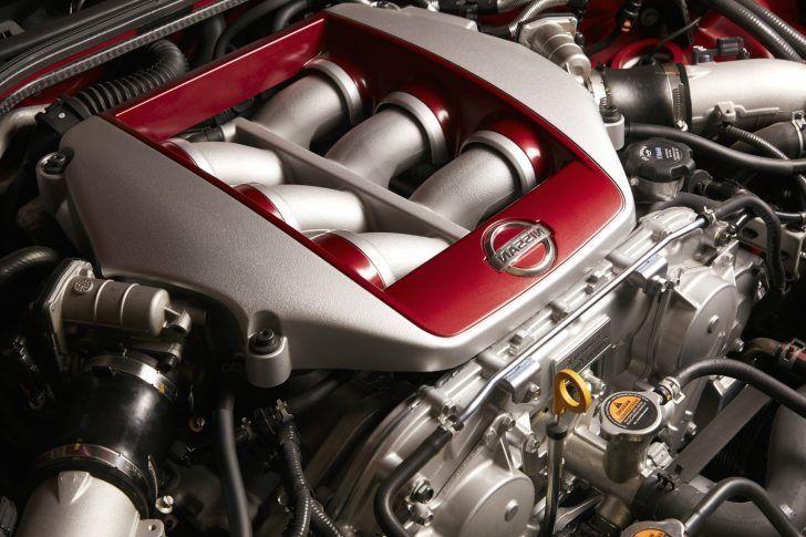 2018 Nissan GT R Track Edition Engine