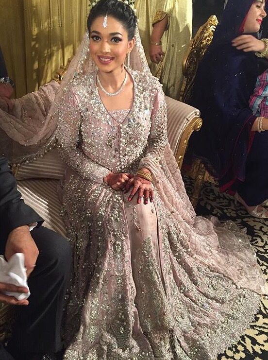 Sanam Jung on her Walima #pakistaniweddings #bridal #bride #couture # Sanam…