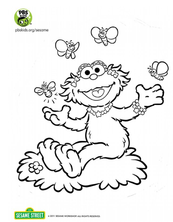 20 best Coloring Pages - Sesame Street images on Pinterest ...