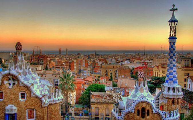 Parc Guell is situated at Barcelona, Spain: Antony Gaudi, Buckets Lists, Cities, Barcelonaspain, Dream Destinations, Gingerbread House, Architecture, Place, Barcelona Spain