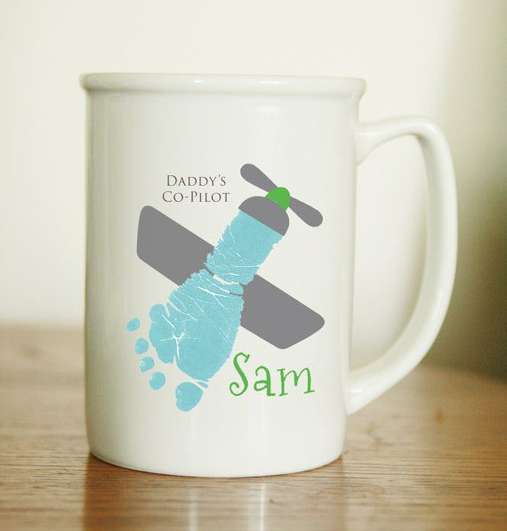 Your child's actual prints on a mug with by MyForeverPrints