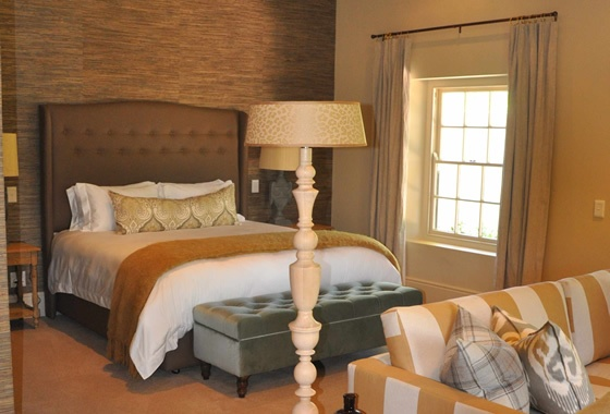 Villa in Franchhoek - for Sarah Ord Interiors
