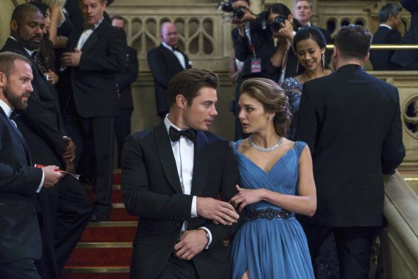 Watch the season one premiere of The Arrangement TV show, online, now, for free. The scripted drama officially premieres on E!, in March. Let us know what you think of the pilot. Should The Arrangement be cancelled or renewed for season two?