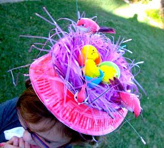 i think we're going to make some silly, fun bonnets this Easter