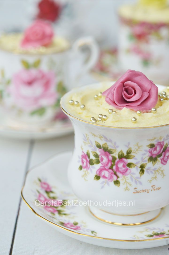 snelle witte chocolademousse