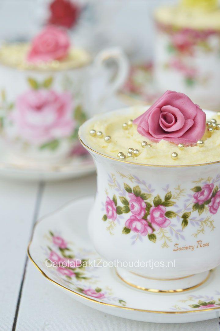 Snelle witte chocolademousse - Carola Bakt Zoethoudertjes