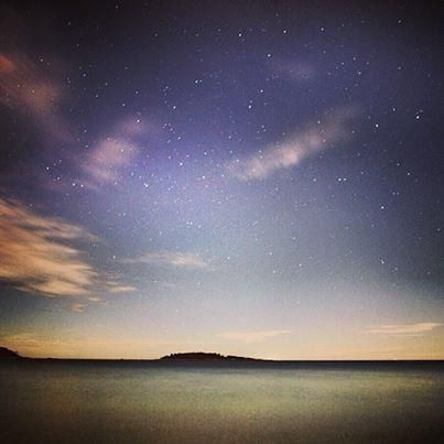 Starry skies like these at The Tides Beach Club in Kennebunkport, #Maine can be reason enough to travel.