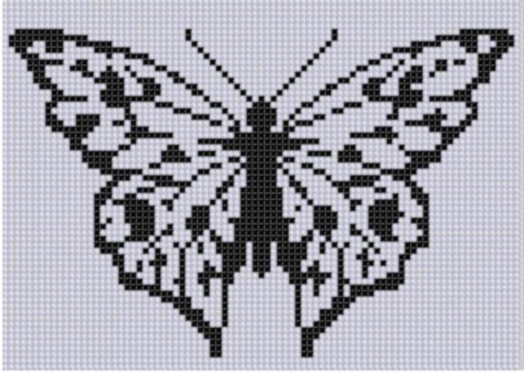 Butterfly 6 Cross Stitch Pattern  | Craftsy