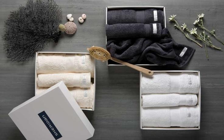 luxury egyptian towel gift set