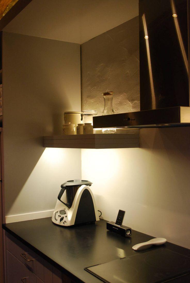 115 best images about iluminaci n en la cocina on - Iluminacion led en cocinas ...
