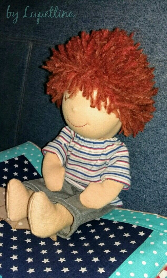 Waldorf doll by Lupettina