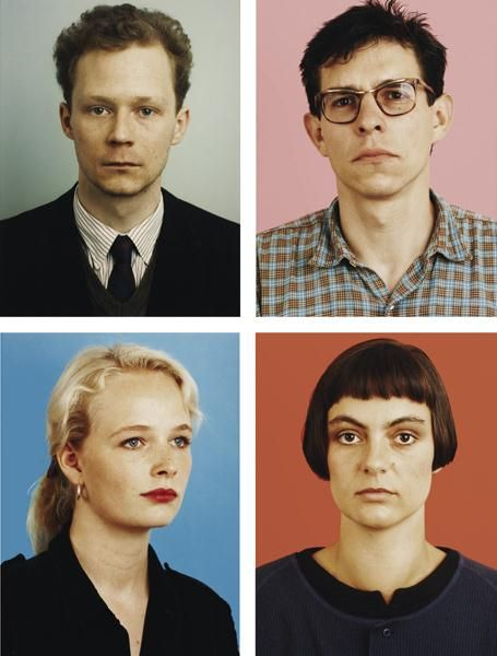 Thomas Ruff, Selected Portraits, 1984-1985