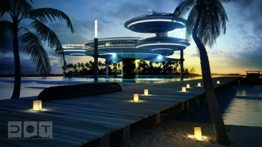 Underwater Hotel planned for Dubai (4): Favorite Places, Architecture, Hotels In Dubai, Water Discus, Underwater Hotel