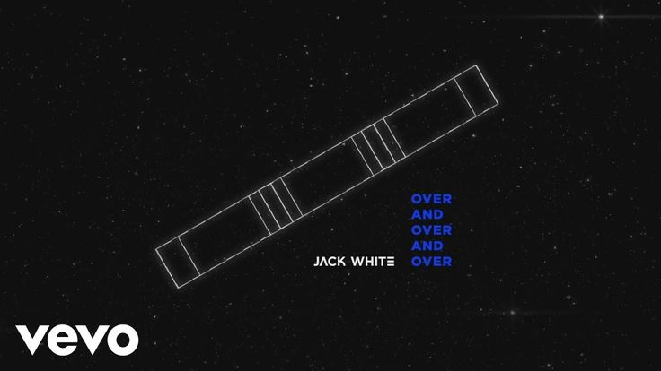 YEP... Jack White - Over and Over and Over (Audio)