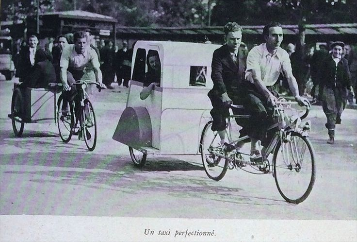 1899-1903 Passenger Trailer/ Trailing Car (Remorque) | The Online Bicycle Museum