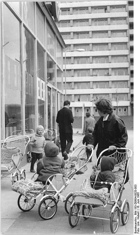 Rostock, Konsum June 1965