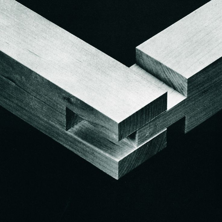 Open slot mortise. From The Art of Japanese Joinery by Kiyosi Seike.