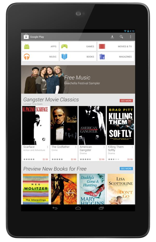 #Android Gives Google Play A Fresh Look For Spring