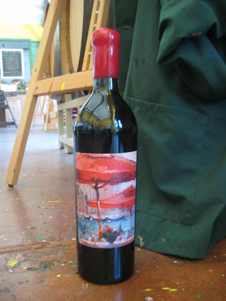 "Artiste ""Finding Romance"", a Super-Barbaresco style blend. Artwork by Steves Quartly."