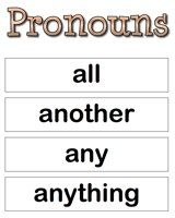 C2W2:  Pronouns Examples