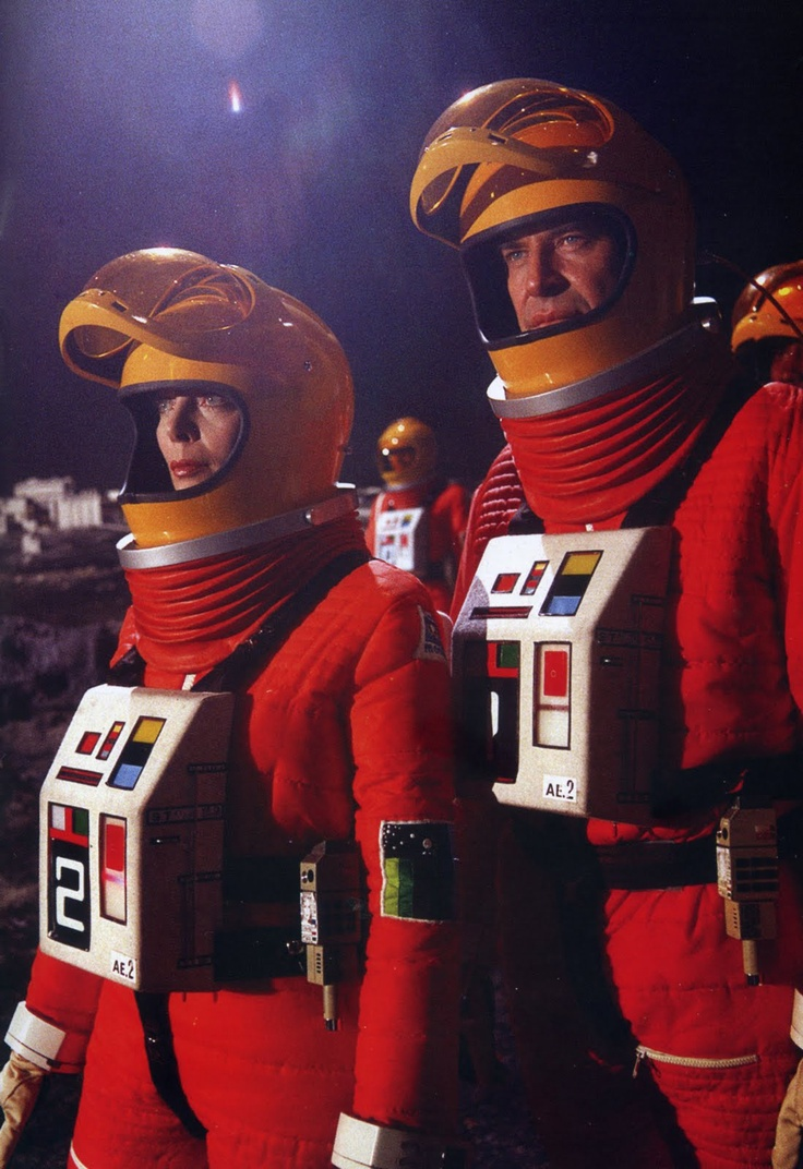 Barbara Bain & Martin Landau in Space: 1999 (1975-77)--The view of almost 21st Century space exploration from the 1970's!