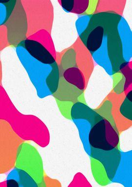 colorful camo