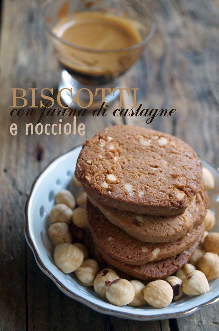 il gattoghiotto: Biscotti con farina di castagne e nocciole (gluten free)