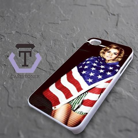 Marina And The Diamonds iPhone 4|iPhone 4S Black Case