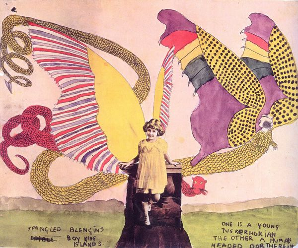 American outsider artist, Henry Darger created a war-inspired fantasy around pre-pubescent girls with boy parts while toiling as a janitor and never receiving recognition until his artist landlord unearthed his treasure trove shortly before his death.