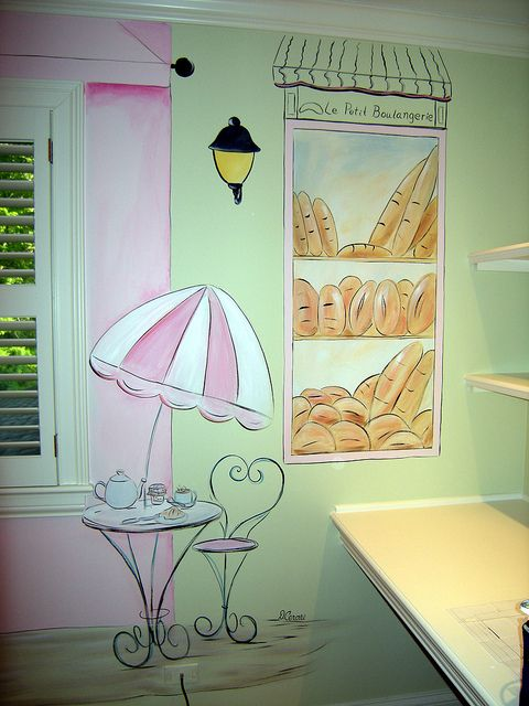 Paris Mural, Girl's Room -...    https://pinterest.com/picturesnow/nursery-ideas/