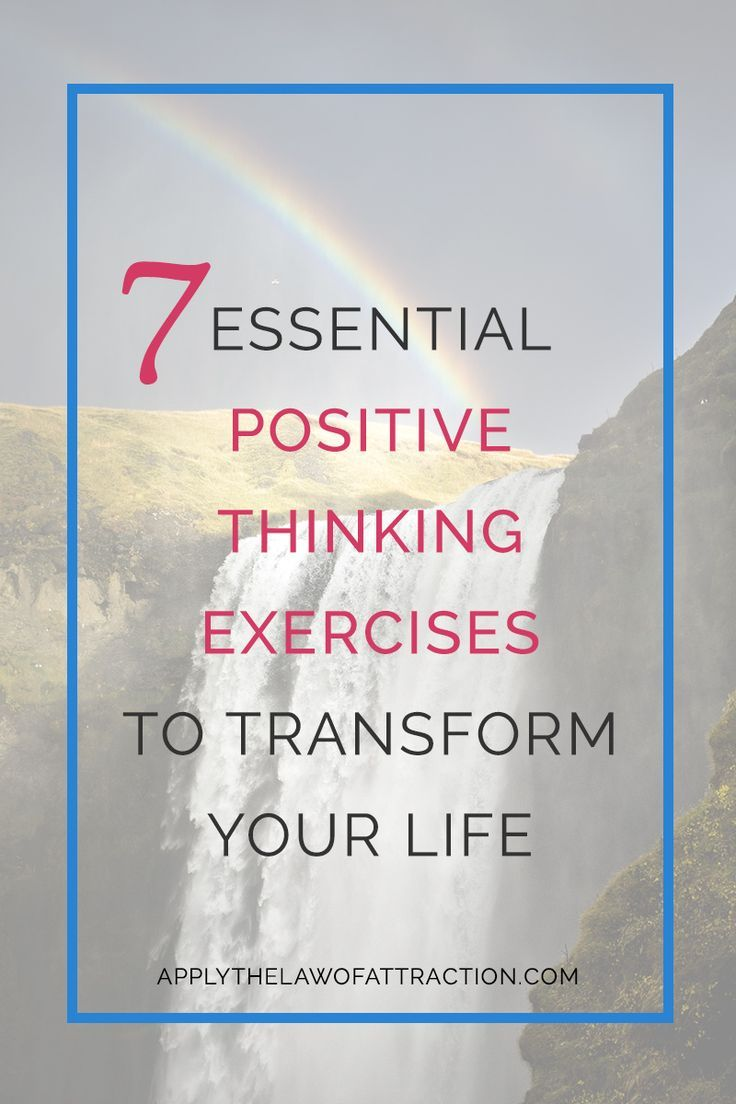 Positive Mind Positive Vibes Positive Life My Life: 25+ Best Ideas About Positive Thinking Exercises On