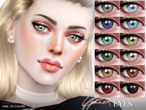 The Sims Resource: Lennox Eyes N139 by Pralinesims • Sims 4 Downloads
